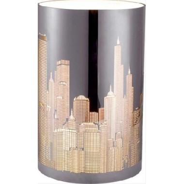 Lampe Gratte ciel New York chromée