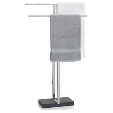 Porte serviette à poser design Menoto inox brossé Blomus