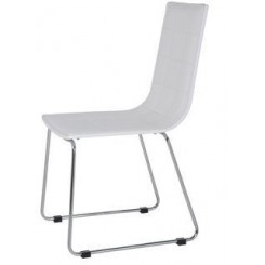 Lot de 4 chaises design Fidelity blanc