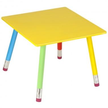Table Crayon multi couleur