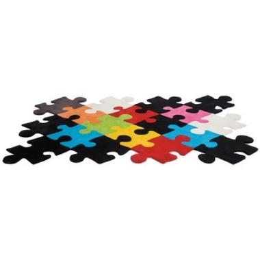 Tapis Puzzle multicolor 170 x 240