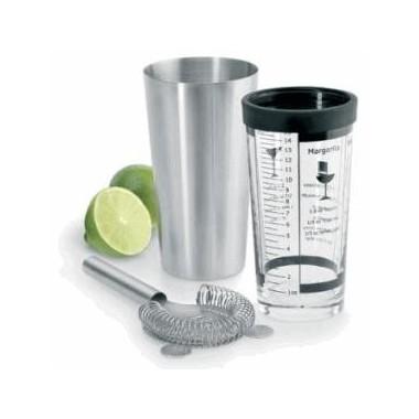Shaker pour cocktail 3 pièces