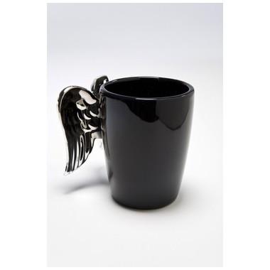 Mug ailes d'ange noir
