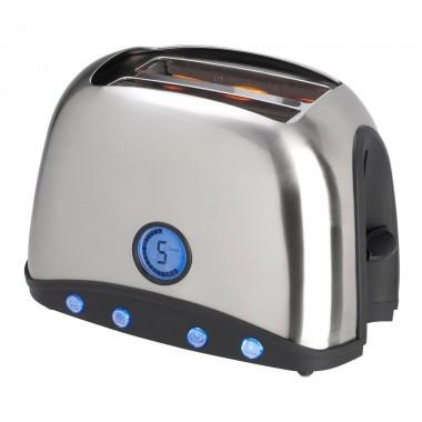 Toaster / grille pain B25 acier brossé