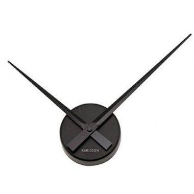 Horloge aiguille Noire 22cm Karlsson
