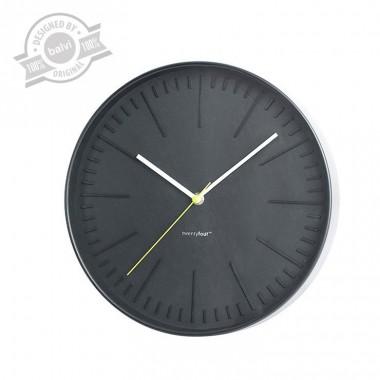Horloge murale Zen noire