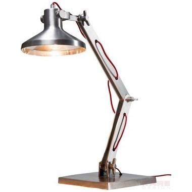 Lampe de bureau Academy alu brossé