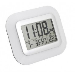 Horloge Design multi-fonction blanc à poser ou accrocher