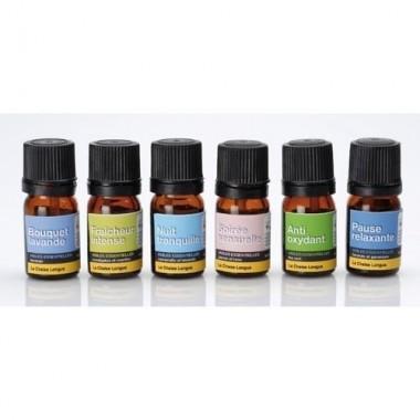 Coffret de 6 huiles essentielles