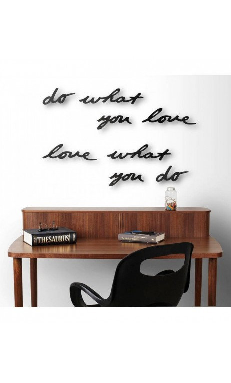 Achetez votre d coration murale noire mantra umbra do for Decoration murale love