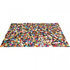 Tapis 240 cm patchwork multicolore Circle
