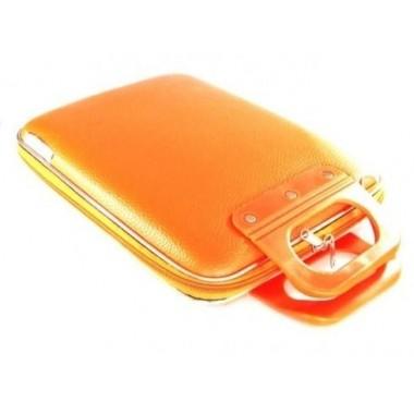 "Malette ordinateur orange 11"""