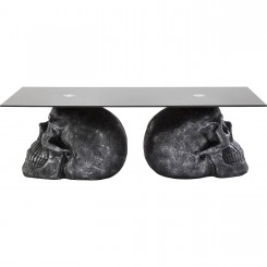 Table basse tête de mort 120 cm Rockstar By Geiss