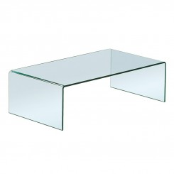 TABLE BASSE DESIGN VERRE TRANSPARENT INFINITY 110 x 60