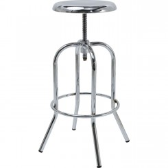 Tabouret de bar industriel chrome Eastside