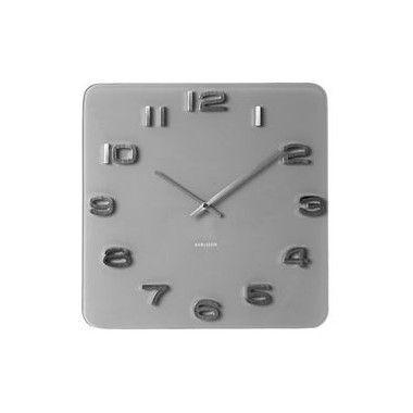 Horloge design blanc et cuivre Vintage Karlsson