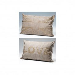 COUSSIN MARRON CLOUS LOVE STUDS KARE DESIGN
