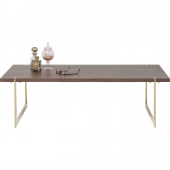 TABLE BASSE 120 CM BOIS ET OR MONTANA KARE DESIGN