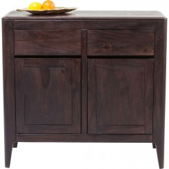COMMODE BOIS EXOTIQUE LAQUE BROOKLYN KARE DESIGN