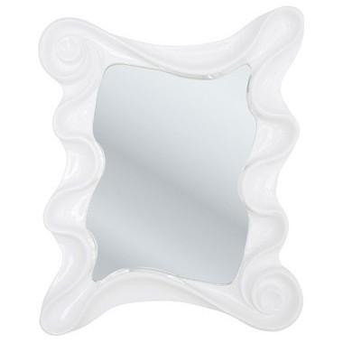 Miroir Design Wonderland Blanc 130 x 107 cm