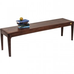 BANC EN BOIS LAQUE 160 CM WALNUT BROOKLYN KARE DESIGN
