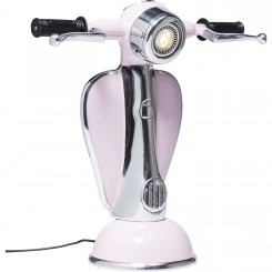 LAMPE A POSER VESPA ROSE A LED SCOOTER KARE DESIGN