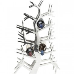 PORTE 10 BOUTEILLES ARBRE CHROME GRAND MODELE RACK KARE DESIGN