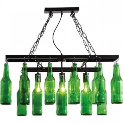 SUSPENSION ABAT-JOUR BOUTEILLES DE BIERE BEER BOTTLE KARE DESIGN
