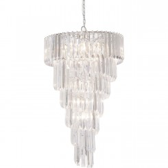 SUSPENSION ASPECT PAMPILLES DE CRISTAL BERGKRISTAL KARE DESIGN