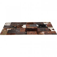 TAPIS STYLE ETHNIQUE 240 X 170 CM SQUARE MIX KARE DESIGN