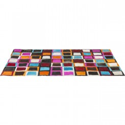 TAPIS EN CUIR AVEC EMPIECEMENTS 240 X 170 CM SWINGING KARE DESIGN