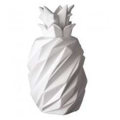 LAMPE A POSER BLANCHE DESIGN ANANAS