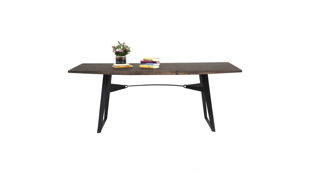 Table a manger industrielle pas cher maison design for Table a manger design pas cher