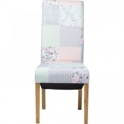 Chaise patchwork liberty Powder