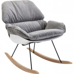 FAUTEUIL A BASCULE DESIGN ROCKING CHAIR ALICANTE KARE DESIGN