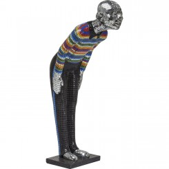 STATUE BIENVENUE WELCOME MOSAIQUE MULTICOLORE GUEST KARE DESIGN