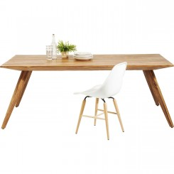 TABLE A MANGER 200 CM BOIS NATUREL VALENCIA KARE DESIGN
