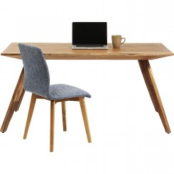 TABLE A MANGER 160 CM BOIS NATUREL VALENCIA KARE DESIGN