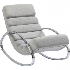 Fauteuil Rocking chair Manhattan blanc