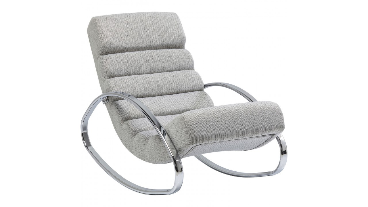 achetez votre fauteuil rocking chair manhattan gris pas. Black Bedroom Furniture Sets. Home Design Ideas