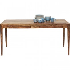 TABLE A MANGER EN BOIS CLAIR 160 CM BROOKLYN KARE DESIGN