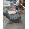FAUTEUIL ROCKING CHAIR URBAN MANHATTAN BLEU KARE DESIGN
