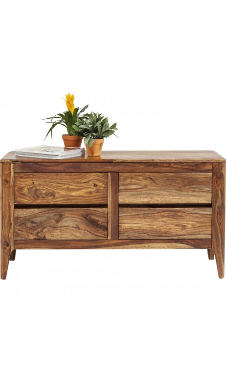 COMMODE 4 TIROIRS EN BOIS CLAIR BROOKLYN KARE DESIGN