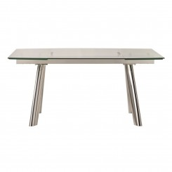 TABLE A MANGER DESIGN EN VERRE 160-240 CM INFLUENCE CAMINO A CASA