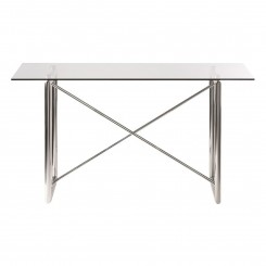 TABLE A MANGER DESIGN VERRE ET CHROME SPILT CAMINO A CASA