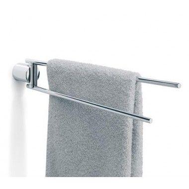 Porte serviettes double DUO inox poli Blomus