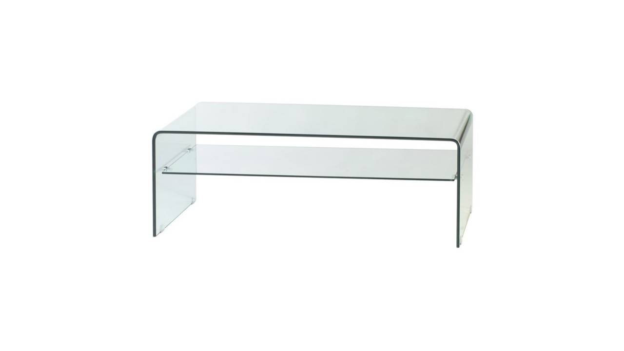 Achetez Votre Table Basse Design Rectangulaire Verre Transparente  # Table Basse Transparente