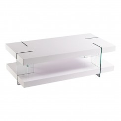 TABLE BASSE DESIGN BLANCHE CRISTAL TOWER