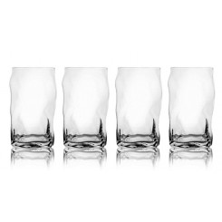 SET DE 4 VERRES DESIGN A WHISKY BALVI