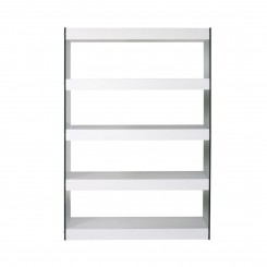 ETAGERE DESIGN 5 TABLETTES LAQUEES BLANCHES CRISTAL CAMINO A CASA